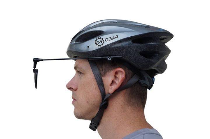 Retrovisor para casco de bicicleta