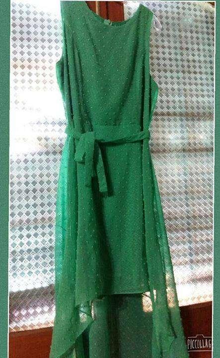 Vestido Corto Adelante Largo Atrás Maria Recalde Id 64474
