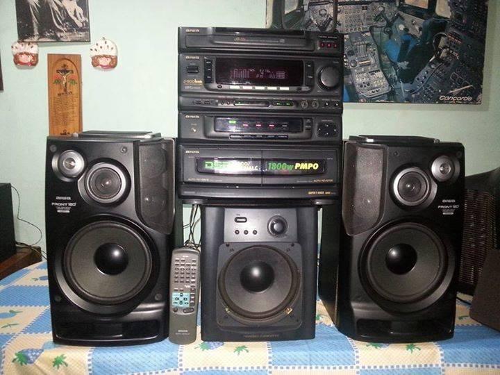 Equipo de sonido aiwa de 1800 w carlos fernandez id 71257 - Equipo musica casa ...