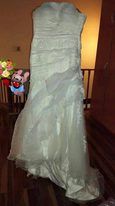 Vestido de novia - Orlando Andres- Hendyla.com