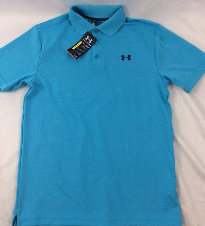 Remeras Under Armour tipo Polo y sin cuello talles M L y XL ... 805dfd09191f1