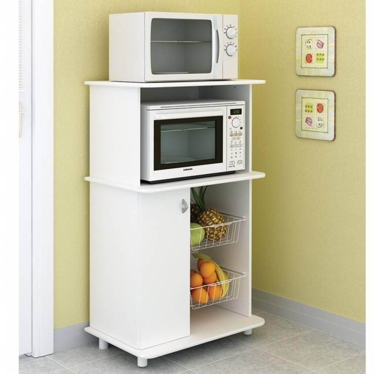 Mueble de cocina para horno y microondas addy for Mueble para encastrar horno y encimera