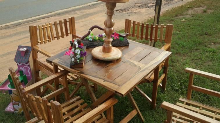 Juego de Muebles para jardin - Lara- Hendyla.com