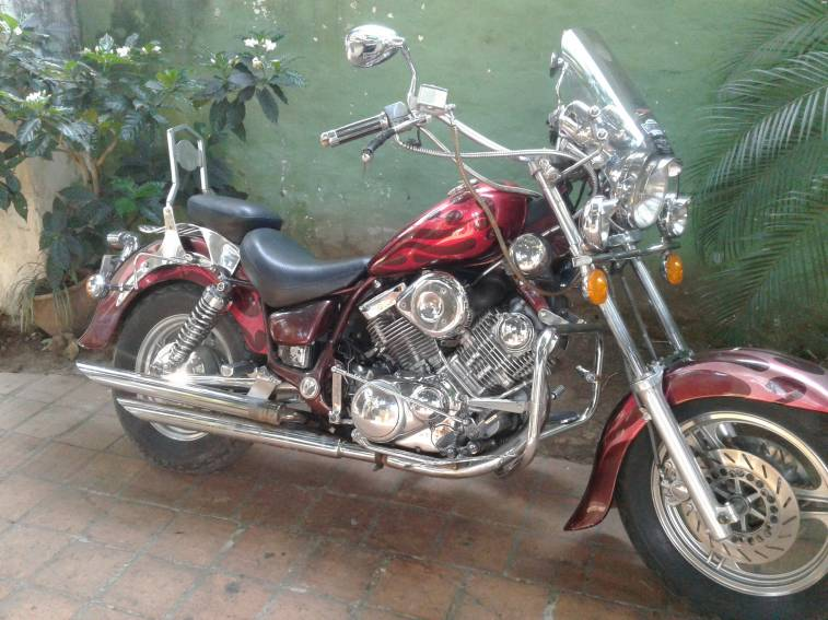 motor virago 750 cc
