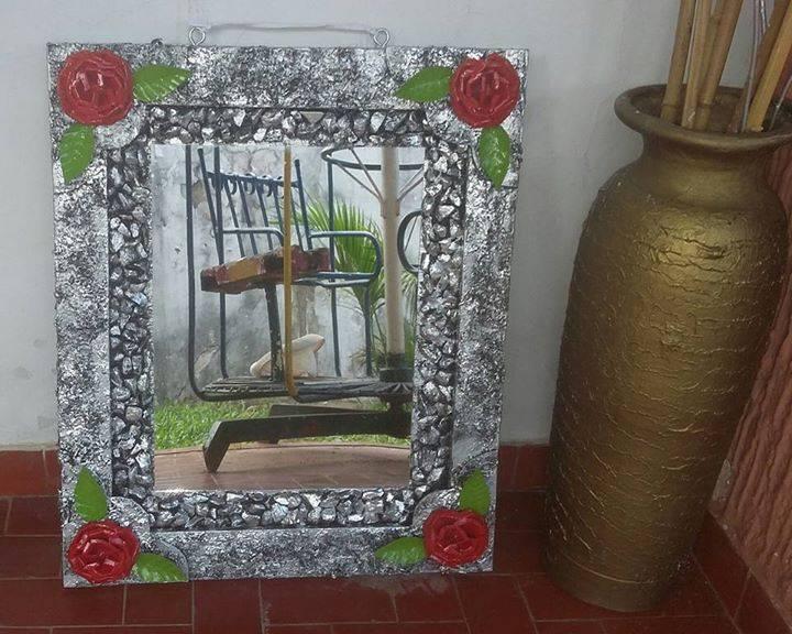 Cuadros con espejos decorados Kari Di Hendylacom