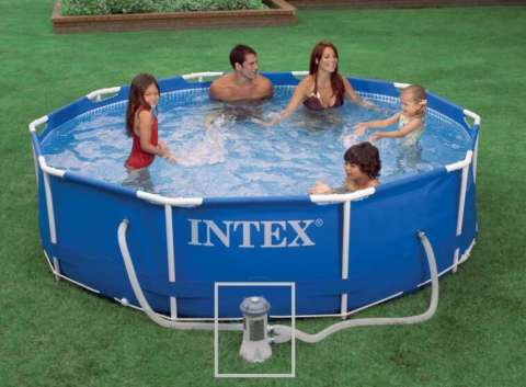 Piscinas Intex de 4.500 litros