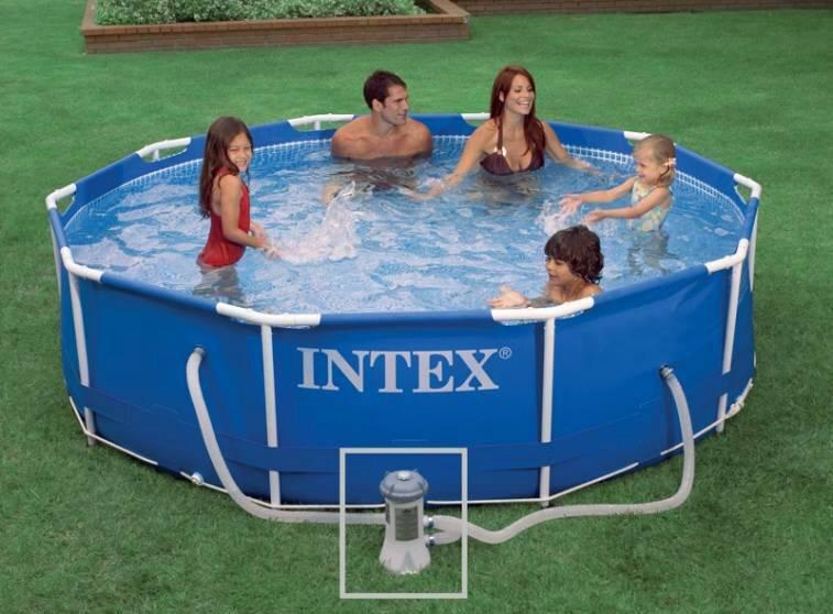 Piscinas Intex de 4.500 litros