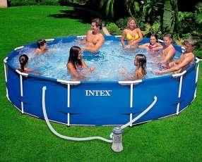 Piscinas Intex de 6.503 litros 3.66x0.76 con filtro