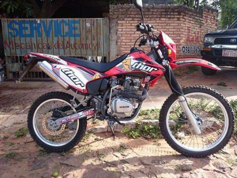 Moto Kenton Hunter 250 cc - Juancito Caballero - ID 8123
