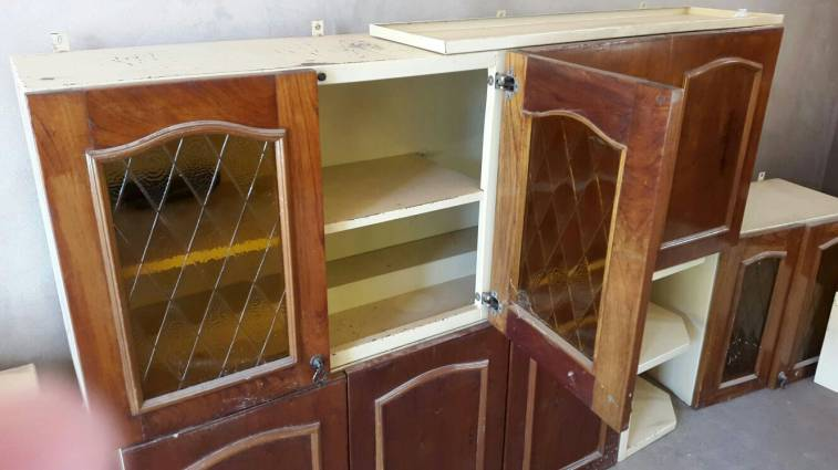 muebles de cocina metal y madera alidj id 9721