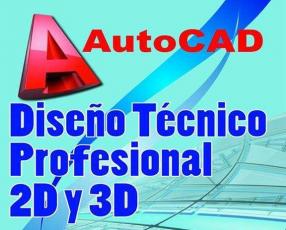 Curso de AutoCad 2D y 3D