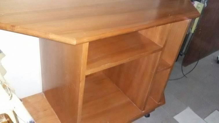 Mueble de madera para tv y equipo de sonido anne - Muebles para equipo de sonido ...