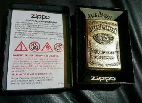 Zippo edicion jack daniels