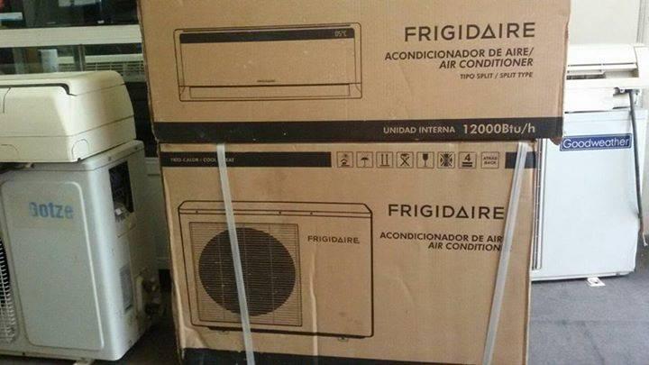 Aire acondicionado split frigidaire 12000 btu marcelo for Aire acondicionado 12000 frigorias
