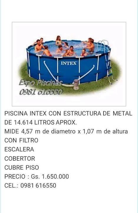 Piscina intex Nuevas en caja Asunción