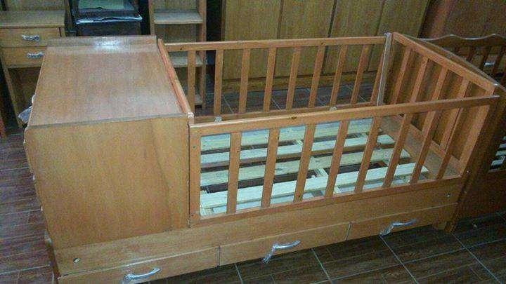 Cama Cuna de madera - 0