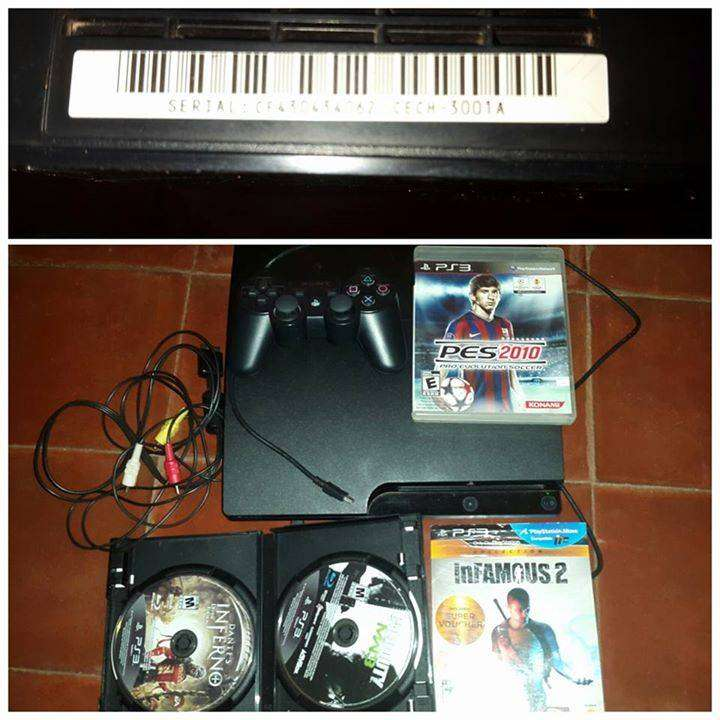 Play Station 3 con control