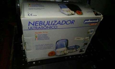 Nebulizador en caja con todos sus acesorios