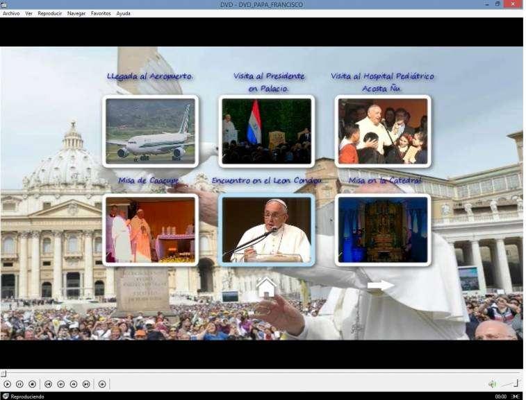 DVD Papa Francisco en Paraguay - 1
