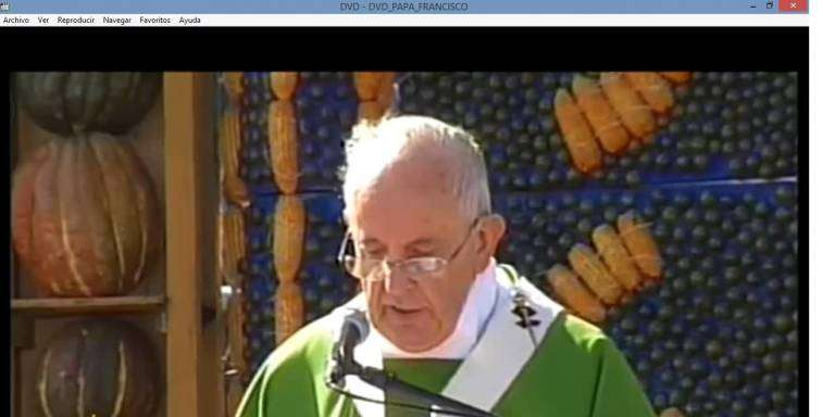DVD Papa Francisco en Paraguay - 3