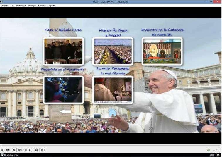 DVD Papa Francisco en Paraguay - 2