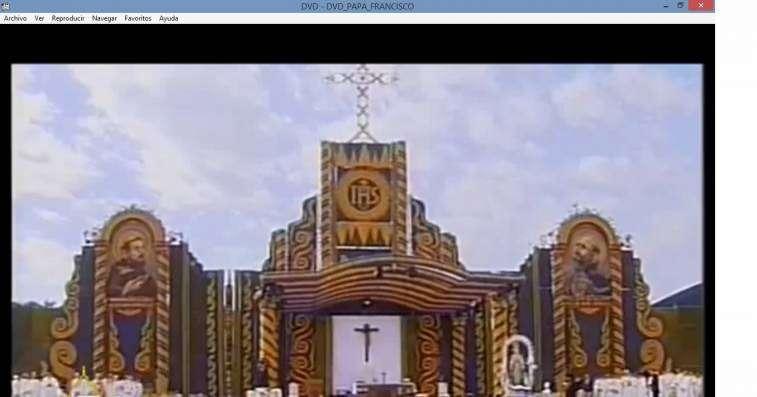 DVD Papa Francisco en Paraguay - 4