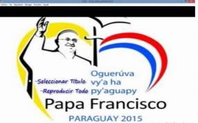 DVD Papa Francisco en Paraguay