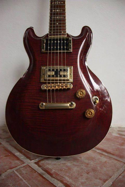 Guitarra de luthier diego raul ortiz ocampo for Guitarras de luthier
