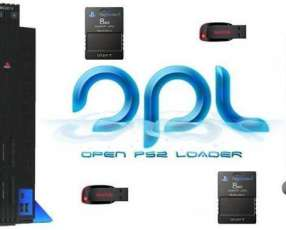 Pendrive y memory con juegos de play station 2