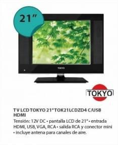 Tv LCD Tokyo 21 pulgadas