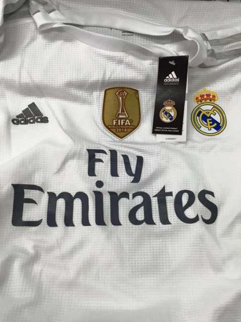 Camisetas + short + medias Real Madrid
