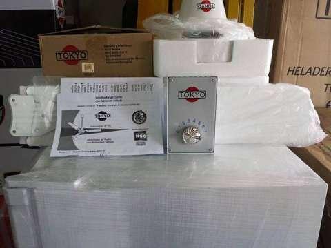 Ventilador tokyo de 3 velocidades bellhogar - Motores de ventiladores de techo ...