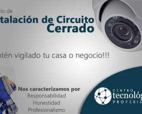 Instalación y Configuración de sistema de vídeo vigilancia CCTV