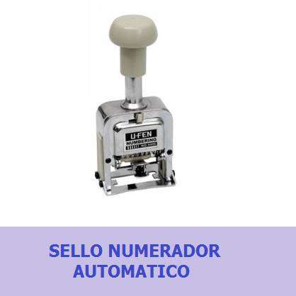 Sello Numerador
