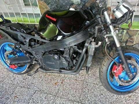 Alquiler Kawasaki Ninja