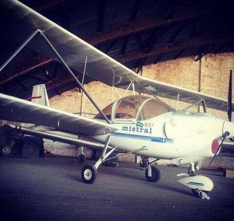 Avión Ultraleve Mistral