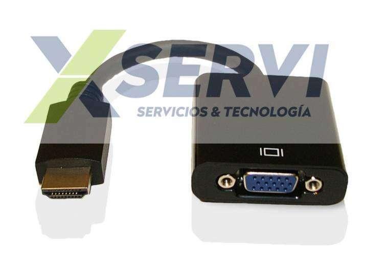 Conversor adaptador HDMI a VGA con Audio HD play 4 1080i - 0
