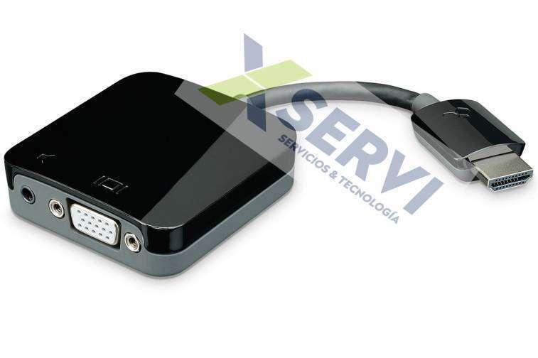 Conversor adaptador HDMI a VGA con Audio HD play 4 1080i - 4