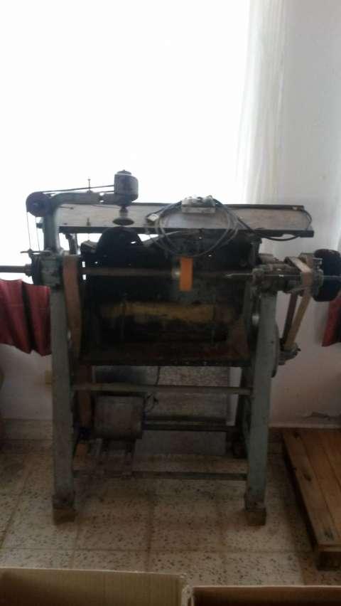 Máquina Paulina para hacer zapatos