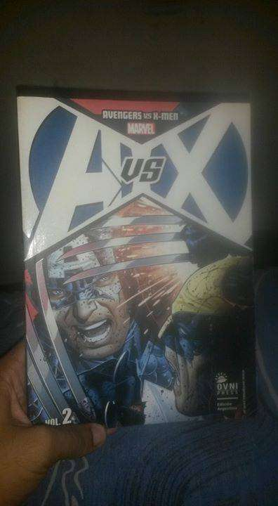 Comic de Avengers vs X-men volumen 2