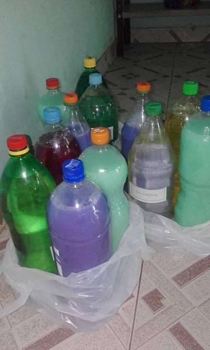 Productos de limpieza sobre pedido