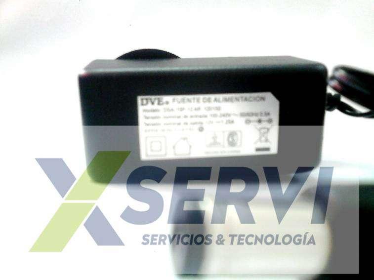 Cargador para Router Access Point Modem cámaras 12 V - 4