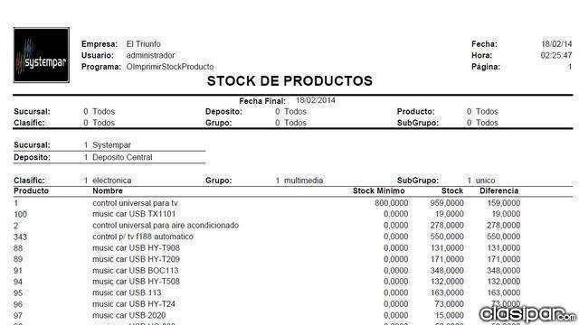 Systempar sistema de stock y facturacion - 3