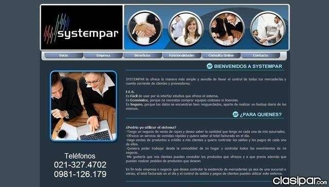 Equipá tu negocio con SYSTEMPAR SISTEMA DE STOCK Y FACTURACION - 1