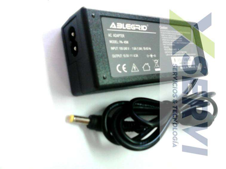 Cargador para Mini notebook Sony Vaio 10.5V 4.3A - 0