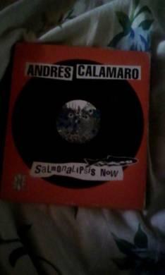 Cd de Andres Calamaro el Salmo contiene dos original edición limitada