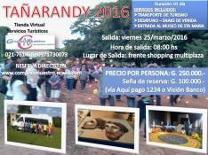 Viaje tradicional a Tañarandy 2016