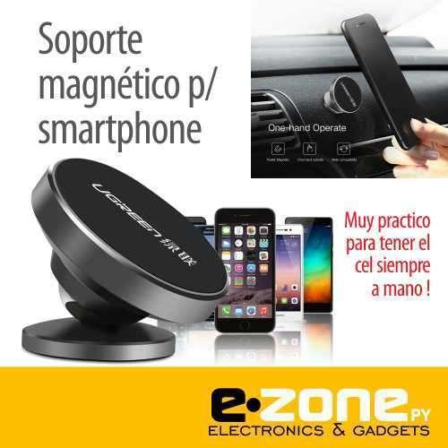 Soporte magnético para el celular para el tablero del auto - 0