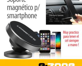 Soporte magnético para el celular para el tablero del auto