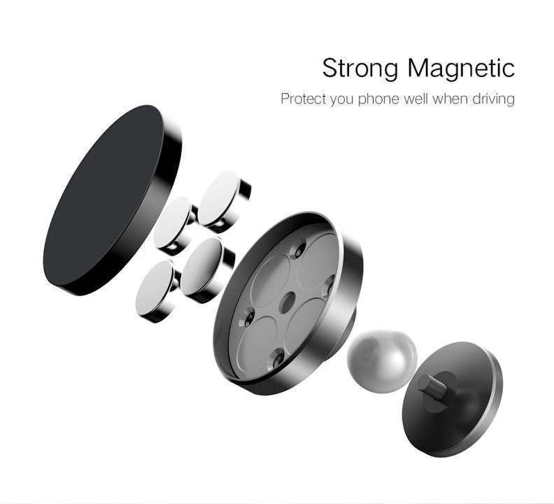 Soporte magnético para el celular para el tablero del auto - 7